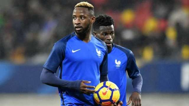 Dembele with Les Espoirs